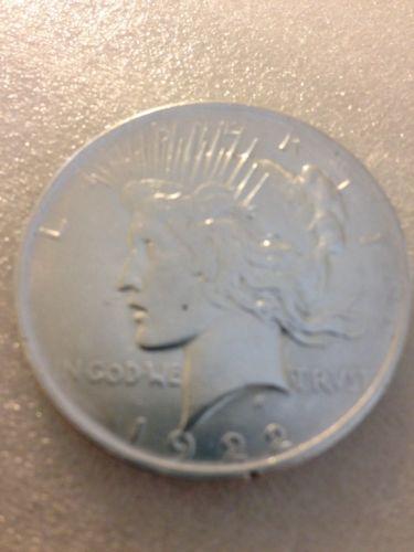 1922-P $1 Peace Dollar