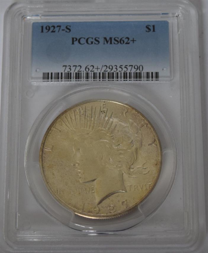 1927-S Peace Dollar