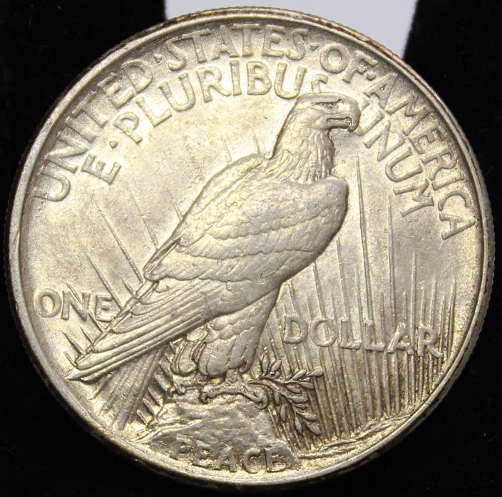 1921 Peace Dollar BU+