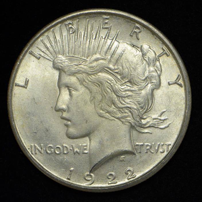 1922-S Peace Silver Dollar United States Coin (cn4730)