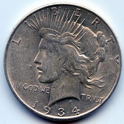 1934-d Peace dollar (SEE PROMOTION)