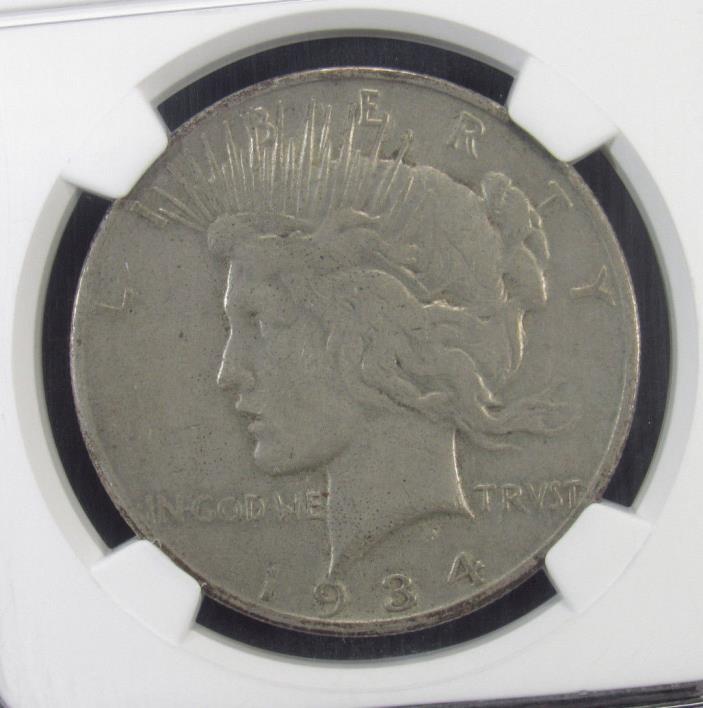 1934-S Silver Peace Dollar NGC VF30 (140)