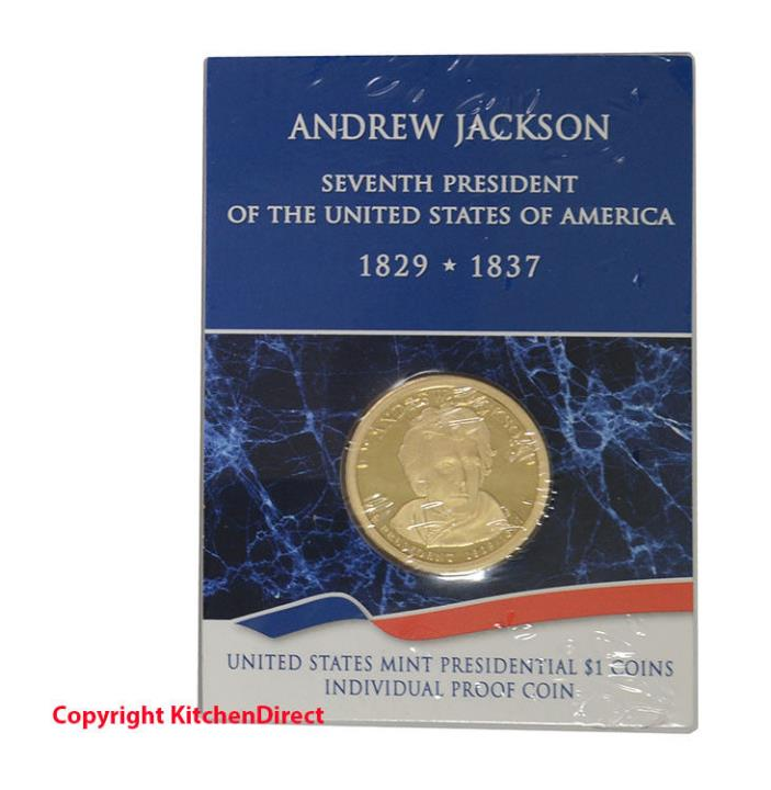 2008 Andrew Jackson US Mint $1 Individual Dollar Proof Coin XH2