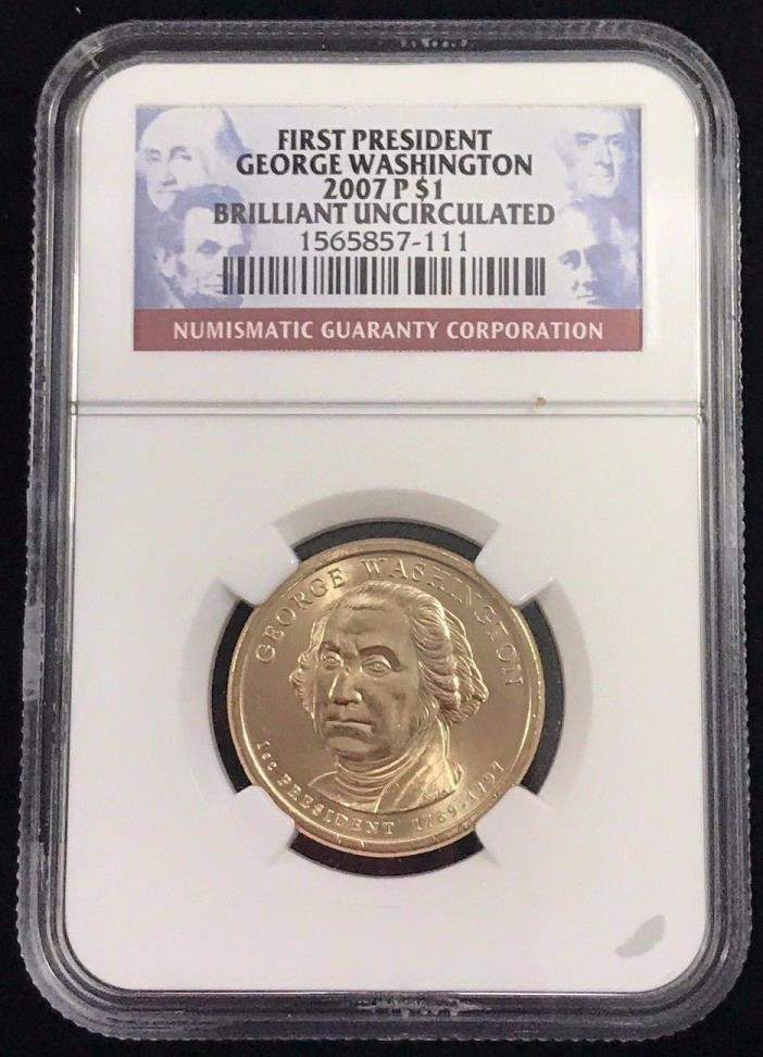 2007 D $1 Fourth President James Madison NGC Brilliant Uncirculated First Issue