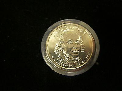 2007-P BU JAMES MADISON  Presidential Dollar 12 Coin Danbury Mint US01DM-W