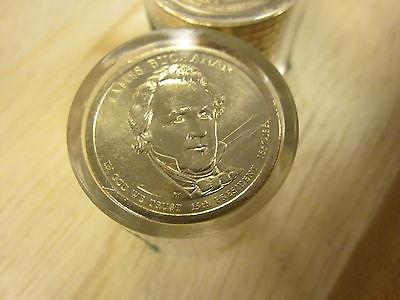 2010-P BU JAMES BUCHANAN  Presidential Dollar 12 Coin Danbury Mint US01DM-W