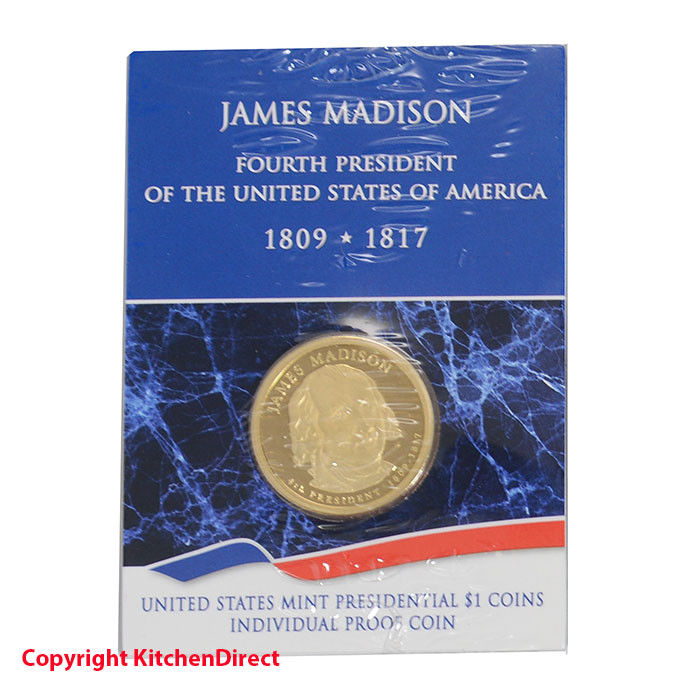 2007 James Madison US Mint $1 Individual Dollar Proof Coin XI1