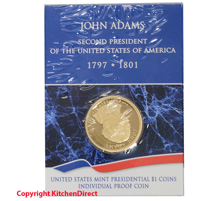 2007 John Adams US Mint $1 Individual Dollar Proof Coin XG1