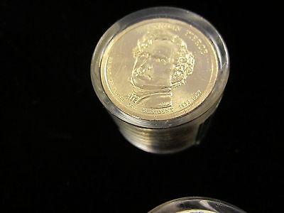 2010-P BU FRANKLIN PIERCE  Presidential Dollar 12 Coin Danbury Mint US01DM-W