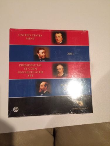 2011 Sealed Uncirculated Presidential $1 Coin Set