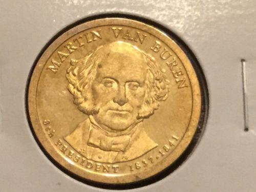 2008 S Martin Van Buren Presidential Dollar Gem Deep Cameo