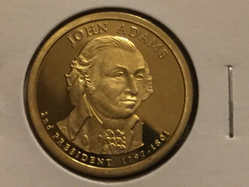 2007 S John Adams Presidential Dollar Gem Deep Cameo