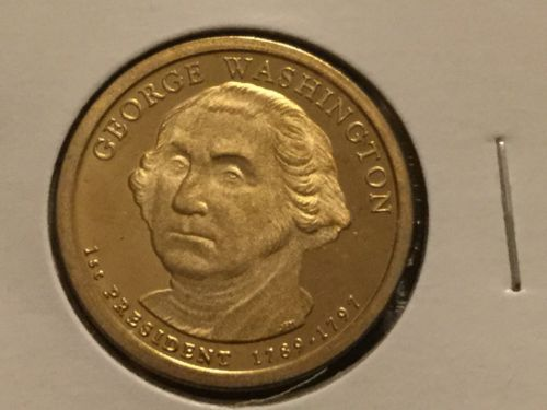 2007 S George Washington Presidential Dollar Gem Deep Cameo