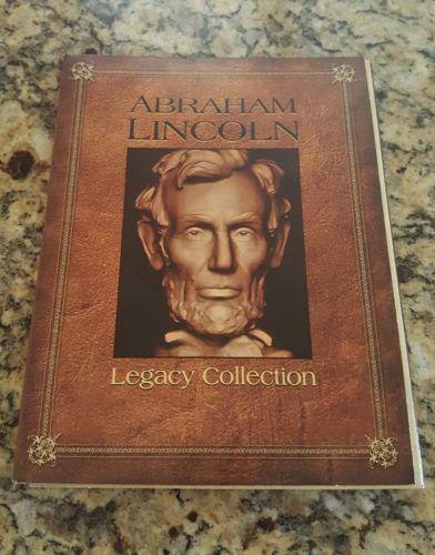 2010 Abraham Lincoln Legacy Collection 9 Coin Collectible Set RARE