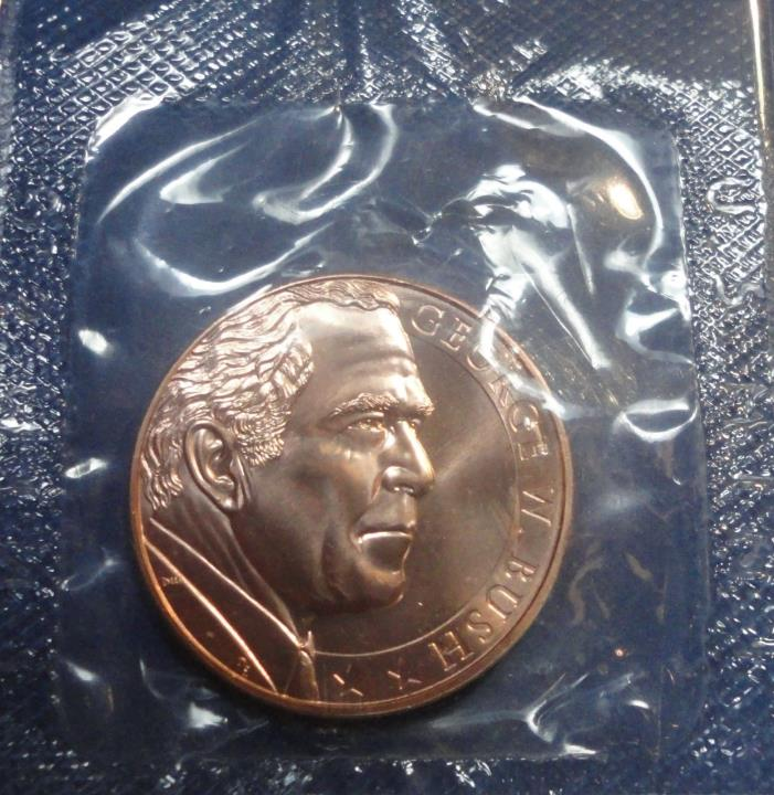 2nd Inauguration of President George W Bush Bronze Medal January 20, 2005