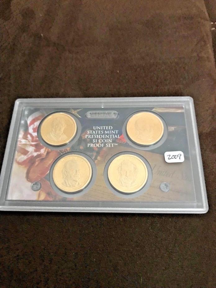 2009 S Presidential Dollar Proof Set  No Box