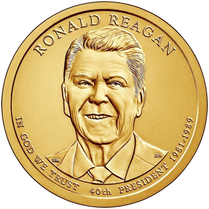 2016-P $1 Ronald Reagan  Presidential Dollar from Mint Set