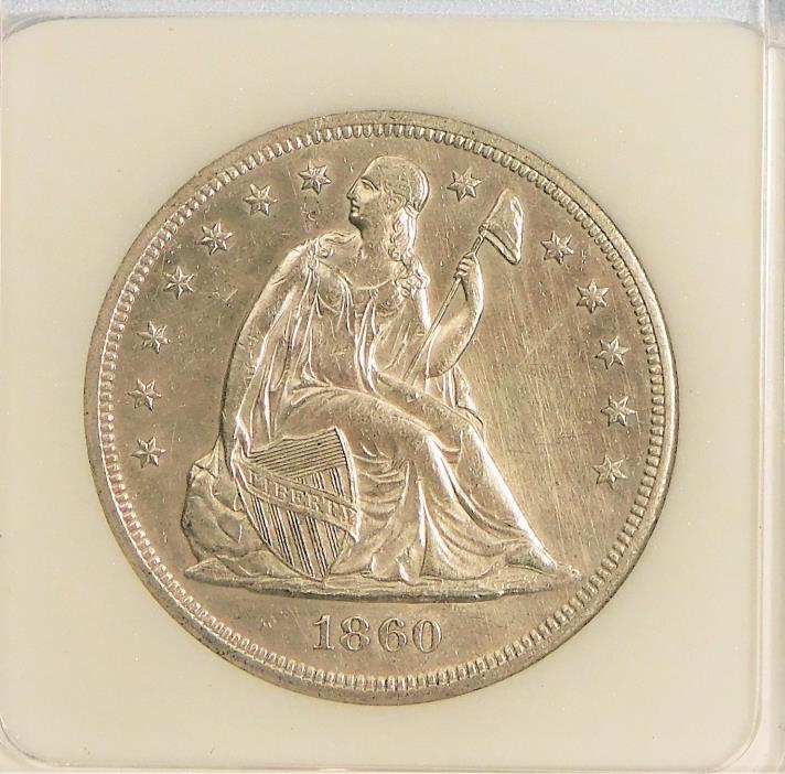 1860-O Seated Liberty Dollar - Uncirculated !!!
