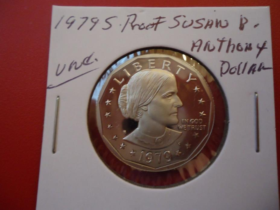 1979 S PROOF  SUSAN B. ANTHONY UNC. DOLLAR COIN