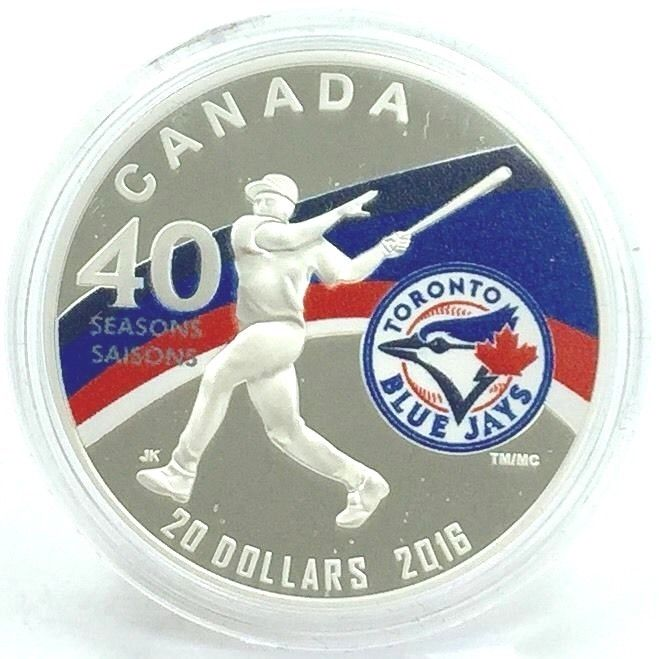 2016 40th Season Of The Toronto Blue Jays $20 COA