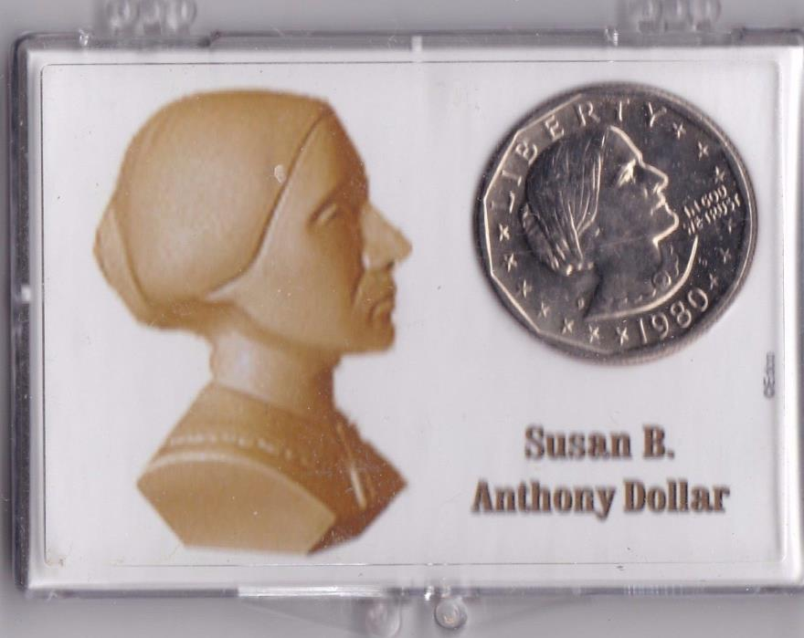 Susan B. Anthony Dollar In Holder