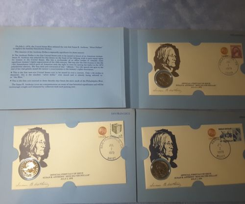 1979 OFFICAL FIRST DAY ISSUE SUSAN B. ANTHONY