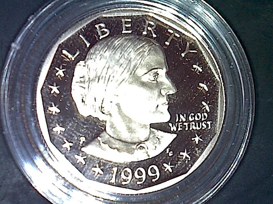 1999-P SBA$1 (Proof) Susan B. Anthony Dollar