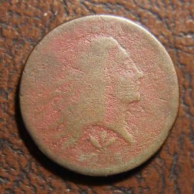 1793 Flowing Hair Large Cent, Vine and Bars Edge, S-9