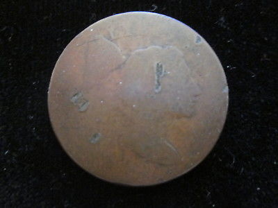1795 U.S FLOWING HAIR COPPER LARGE CENT