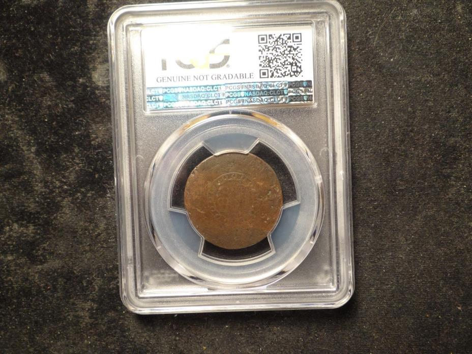 1793 PCGS S-1 Genuine P/FR Chain AMERI. Cent Clear Chain SLABZ