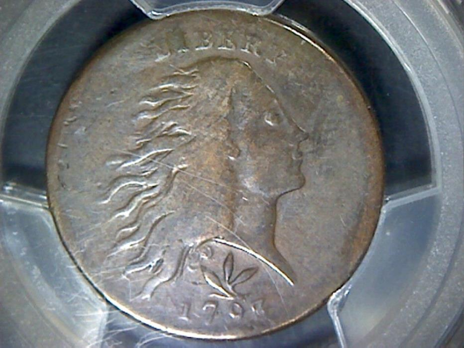 1793 Flowing Hair Wreath type Large Cent