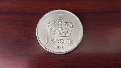 Norway 1976, 1 Krone