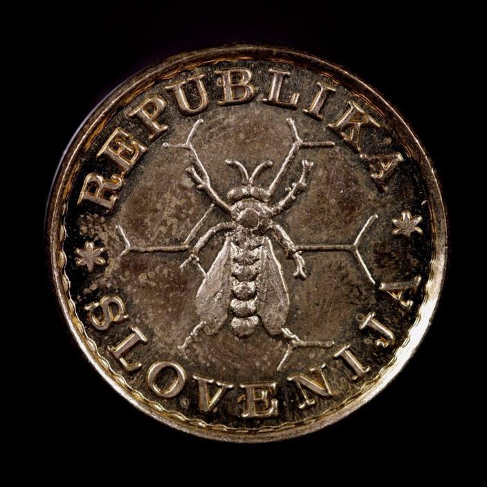 1991 Slovakia .1 & .05 Lipe Coin Set 2