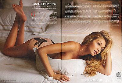 Modern Print Article Super Model GIGI HADID Chanel Swimwear & more 022016