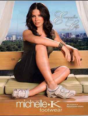 2006 glamour ad  Michele K. Footware, Evangeline Lilly