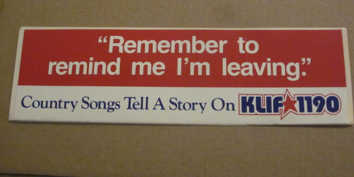 KLIF 1190 AM Radio Station 11.5