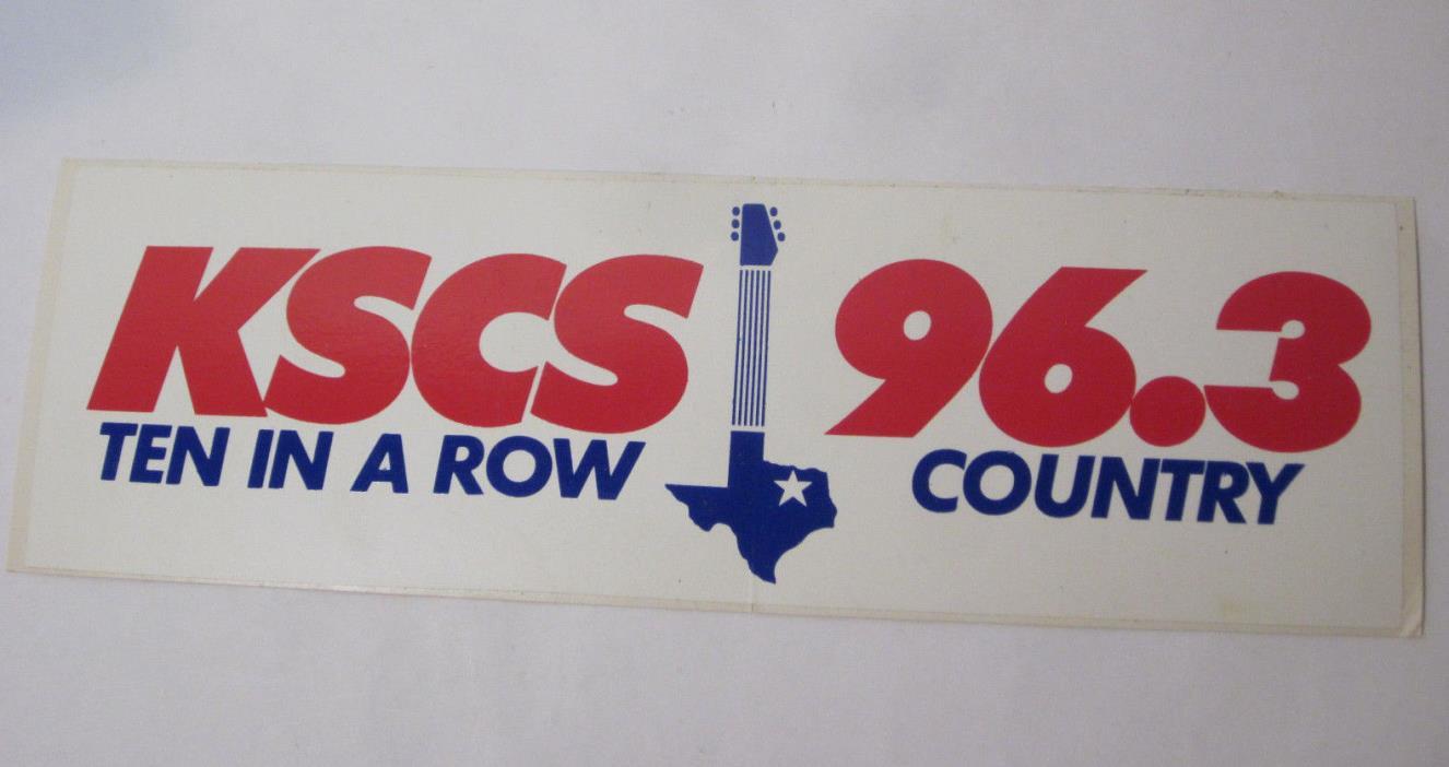 KSCS 96.3 Radio Country 8.5