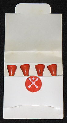 VINTAGE CINGULAR WIRELESS JACK PROMOTIONAL ADVERTISING GOLF TEE & MARKER SET