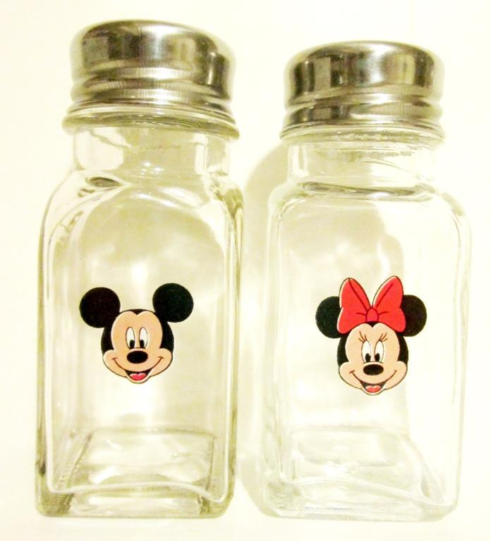 Mickey Mouse & Minnie Mouse Salt & Pepper Shaker Set