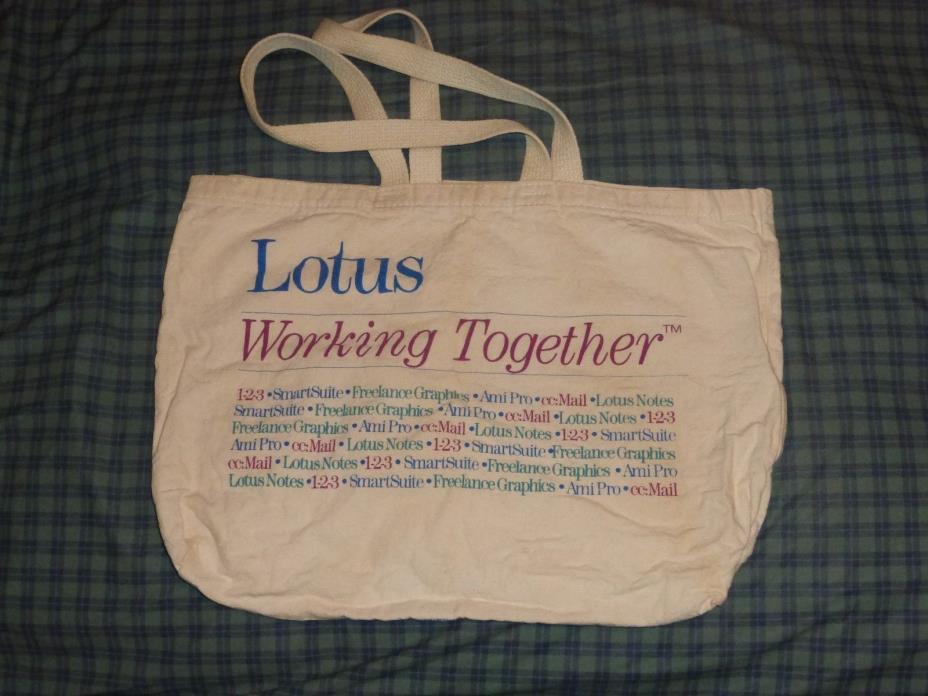 Lotus Software Tote Bag