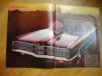 1969 Ford LTD  Ad 1968 Polaroid Color Pack Camera Ad 1968 Old Crow Whiskey Ad