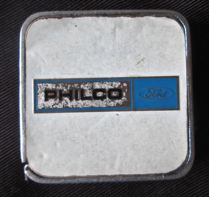 vintage Philco Ford advertising tape measure, 1.5