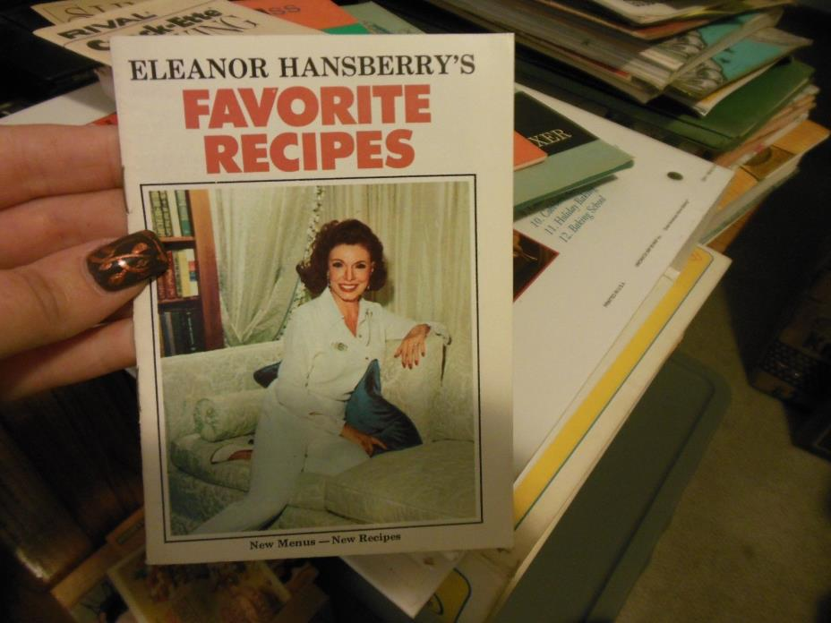 Hollywood Bread Diet Eleanor Hansberry Recipes Booklet Vintage 1970s