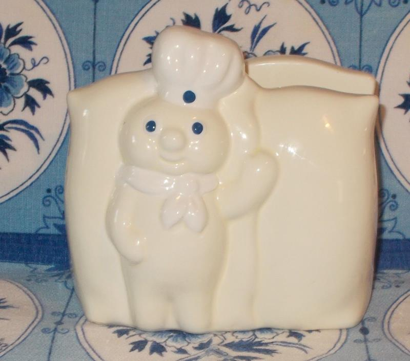 Pillsbury Dough Boy Napkin Holder 1988