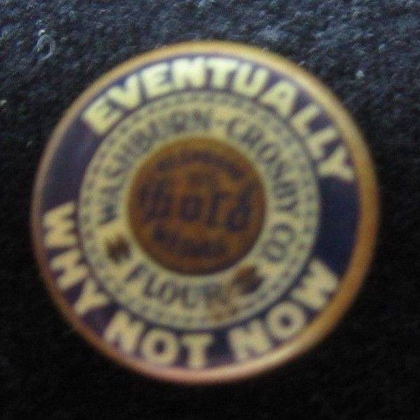 VINTAGE LATE 1800's WASHBURN-CROSBY CO. GOLD MEDAL FLOUR
