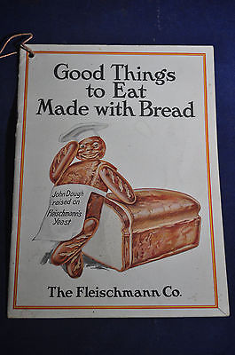 1916 Good Things to Eat Made With Bread, Fleischmann Co Brochure