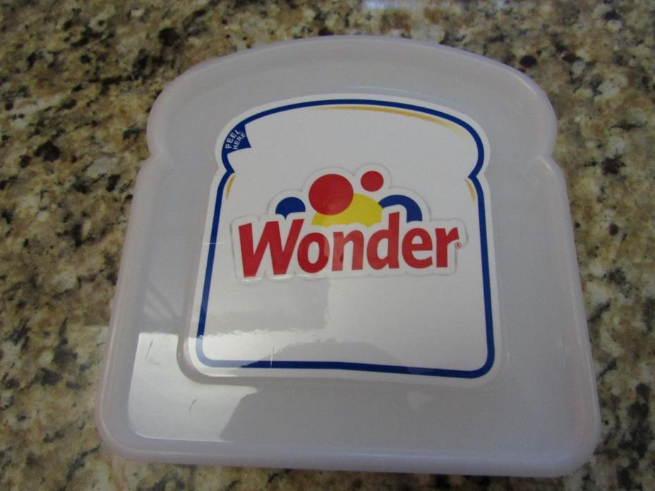 Vintage Wonder Bread Plastic Bread Holder - 2010 Hostess Brands