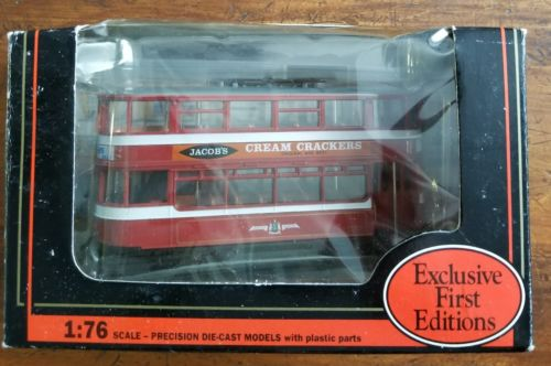 EFE Leed Transports Jacob's Andrew 1340 1:76 Die Cast Jacob's Cream Crackers NIB