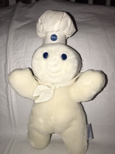 25th Birthday Pillsbury Dough Boy Poppin'Fresh Plush 12