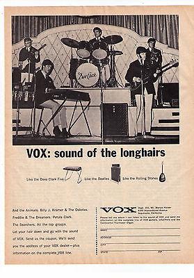 1965 Dave Clark Five Vox